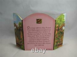 Wee Forest Folk Romeo & Juliet with Backdrop Retired WFF Box
