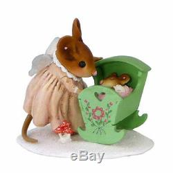 Wee Forest Folk SA-1 Lullaby Angel Pink Baby (RETIRED)