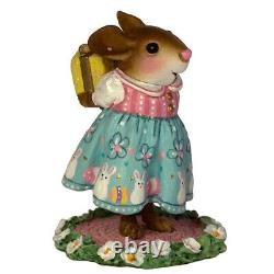 Wee Forest Folk SPECIAL EASTER SURPRISE, WFF# M-557c, Retired LTD 2016 Mouse