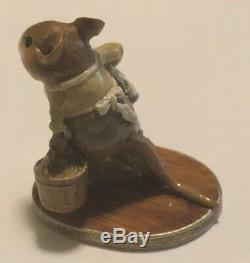 Wee Forest Folk Sea S-06 Retired Scrimshaw Edward Haskell special color