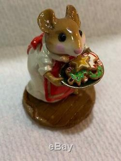 Wee Forest Folk Special Color Retired Glass Pheasant Pearlized Sugar & Spice