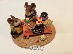 Wee Forest Folk Special Color Retired Halloween Bake Sale