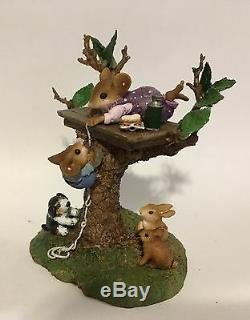 Wee Forest Folk Special Edition Summer Family Tree House Sold Out Retired