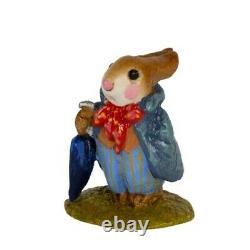 Wee Forest Folk Special Mini Professor Rabbit Annettes Birthday Retired Mini