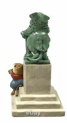 Wee Forest Folk Statue In The Park, 1051/2000 Signed William Petersen Retired EUC