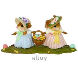 Wee Forest Folk THIS WAY OR THAT WAY, WFF# M-458 Retired Easter Mouse