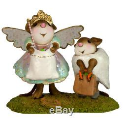 Wee Forest Folk TOOTHY TWOSOME, WFF# M-586a, Retired Halloween Mice