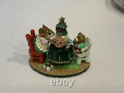 Wee Forest Folk Tea For Three Christmas Limited Edition Retired