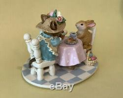 Wee Forest Folk Tea For Three Easter Limited Retired