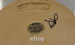 Wee Forest Folk Tea With Tillie Retired M 285