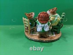 Wee Forest Folk. Tea for Three. St Patrick's day. Retired and limited