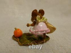 Wee Forest Folk The Halloween Princess Pink M-299 Retired Pumpkin