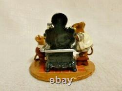 Wee Forest Folk The Old Black Stove Special Edition m-185 Retired Mouse