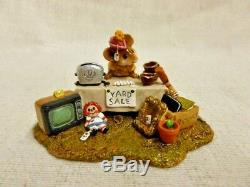 Wee Forest Folk The Yard Sale Special Edition M-202 Mouse Retired