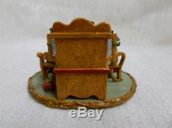 Wee Forest Folk Tillie's Christmas Tea Christmas Special Retired M-285a