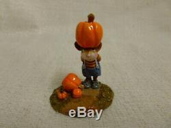 Wee Forest Folk Tippy Top Halloween Edition m-340 Retired Pumpkin