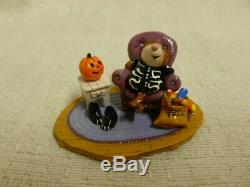 Wee Forest Folk Treat or Retreat Halloween Limited Edition m-273a Retired
