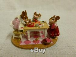 Wee Forest Folk Valentine Workshop Special Limited Edition m-466b Mouse Retired