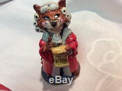 Wee Forest Folk Very Rare Retired Barrister Fox