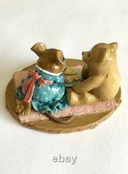 Wee Forest Folk WFF M-384 Sweet Treats Valentine New withBox 2009 (Retired)
