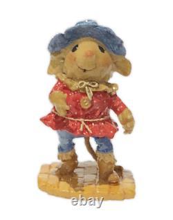 Wee Forest Folk WWO-2 Scarecrow Wonderful Wizard of Oz Event Special (RETIRED)