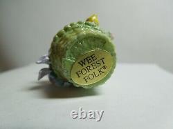 Wee Forest Folk Wee Bunny's Basket TM-5 (Retired)