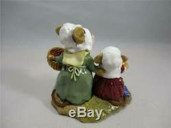 Wee Forest Folk Wee Gather Together Retired Pilgrim Mice WFF Box