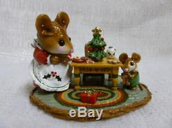 Wee Forest Folk Where Have All The Cookies Gone Christmas Edition M-330a Retired