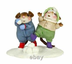 Wee Forest Folk Winter M-408a Dynamic Duo (RETIRED)