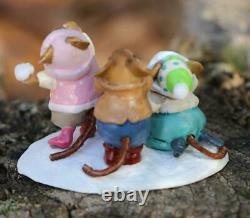 Wee Forest Folk Winter M-436a Taunting Trio (RETIRED)