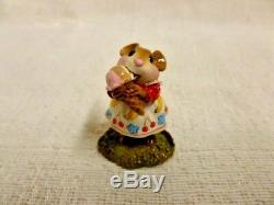 Wee Forest Folk Yummy Limited Edition M-277b Mouse Retired